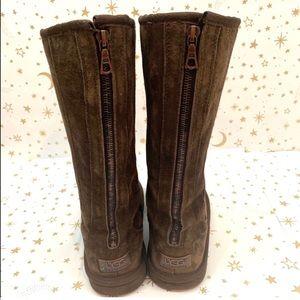 Ugg | Knightsbridge Tall Zipper Winter Boots 7